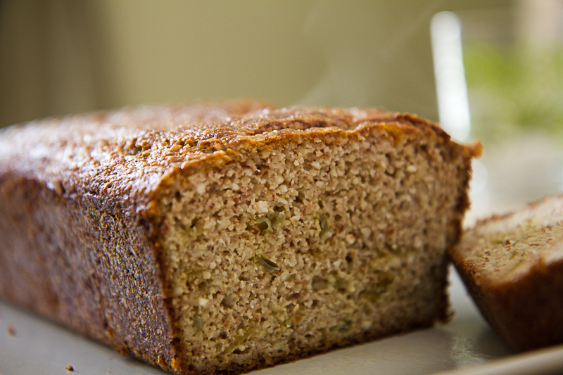 Almond Flour Bread a hankering for bread