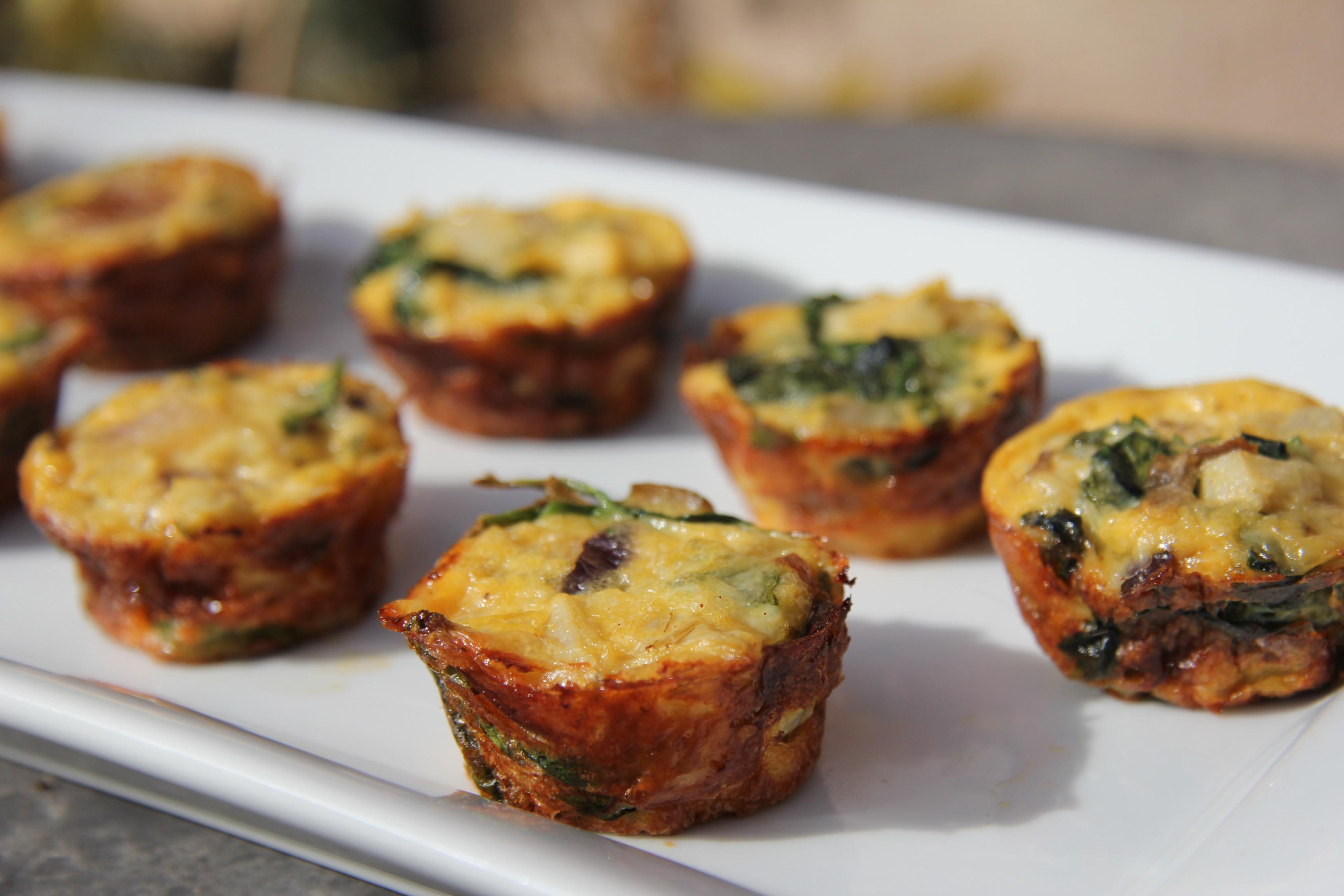 Artichoke and Spinach Mini Quiche Bites – Divalicious Recipes ...