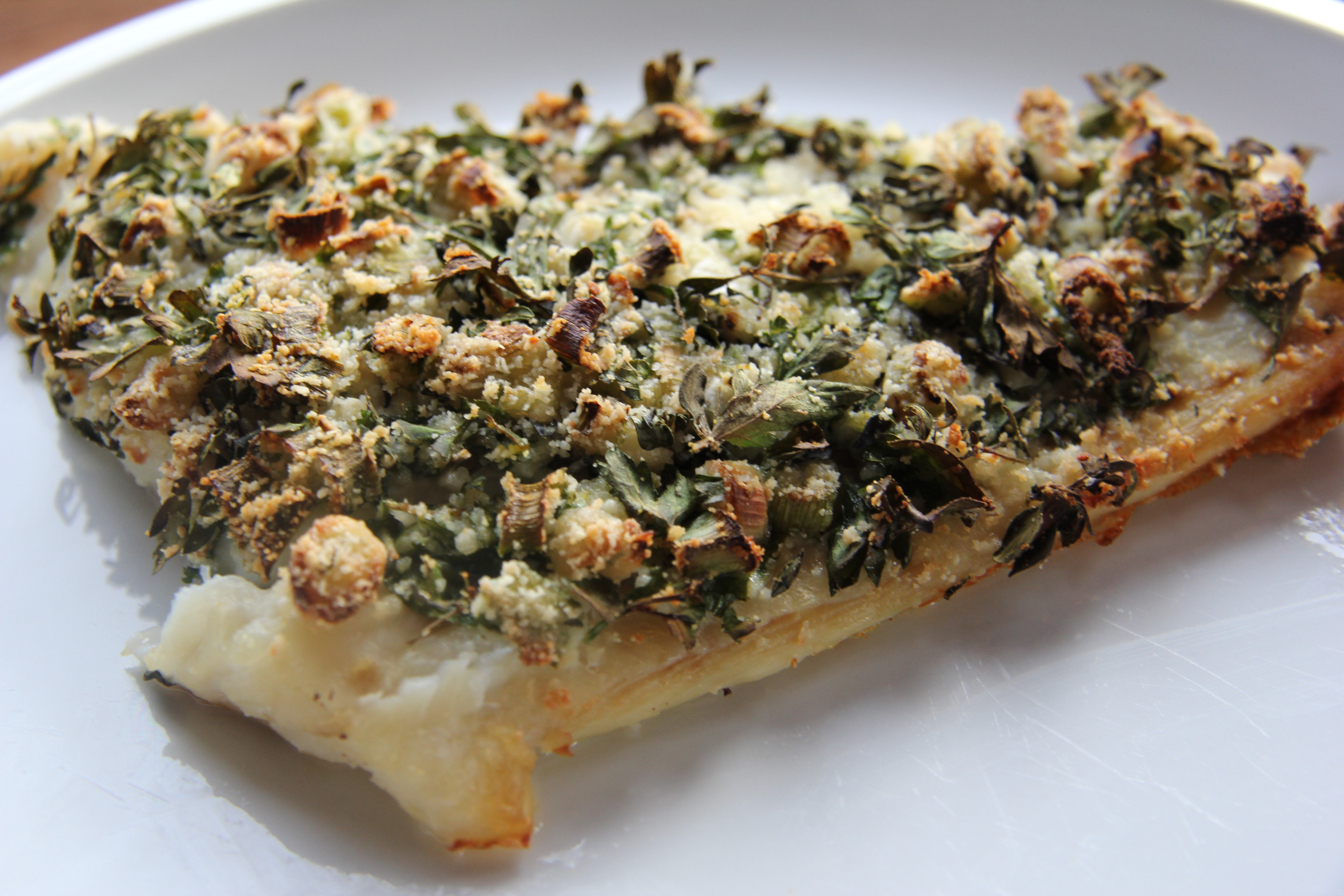 Herb and Almond Crusted Baked Fish | Divalicious Recipes In The City
