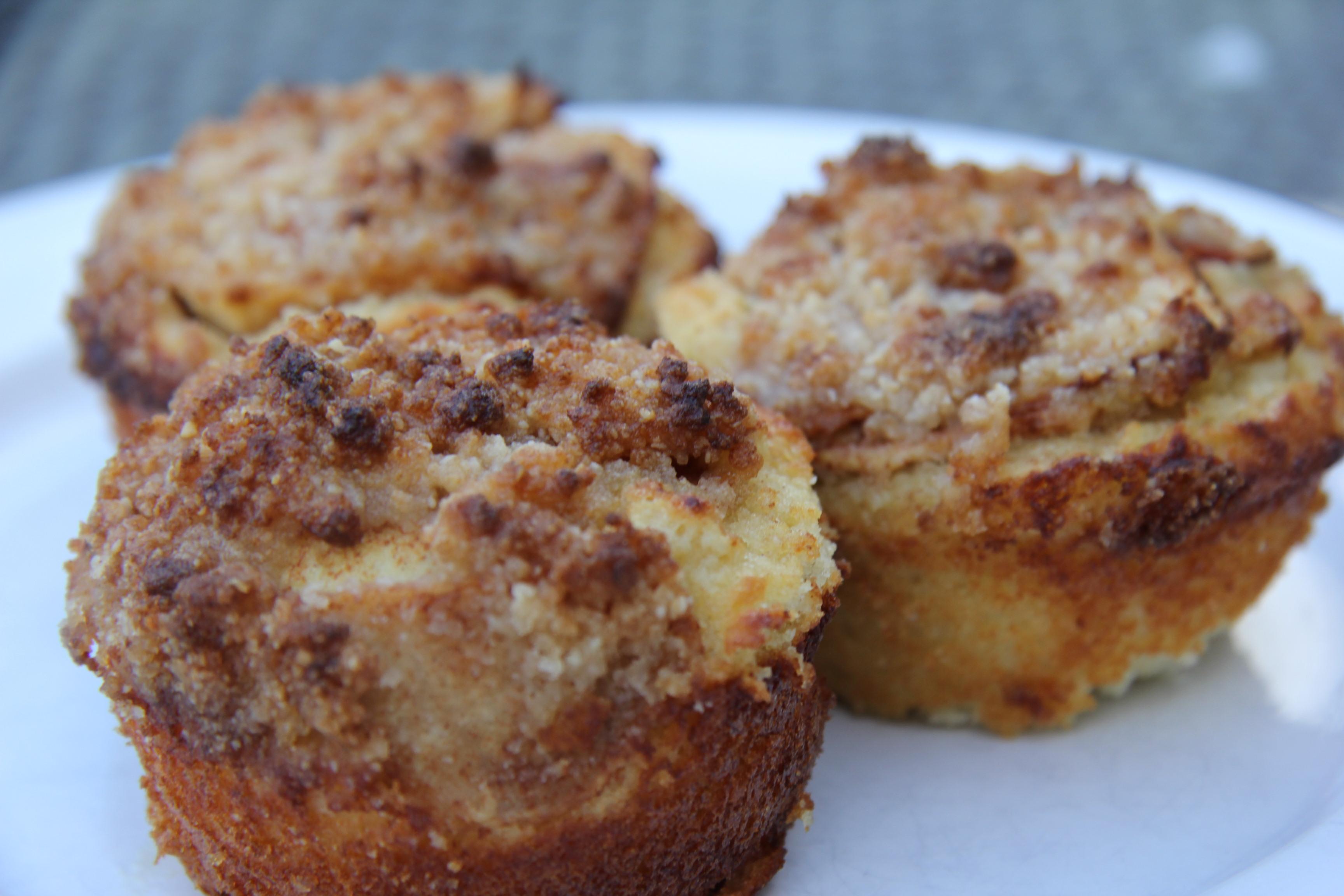 Apple Crumble Muffins (Almond Flour) | Barbados Gluten Free