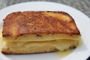 Grilled Cheese Sandwich (Coconut Flour)