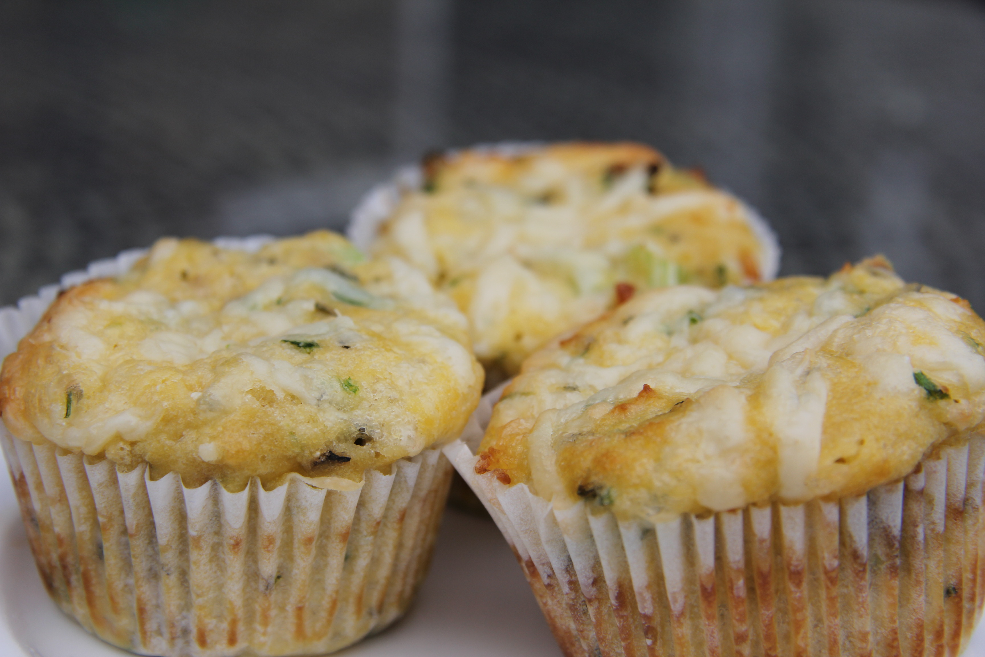 Cheese, Chive and Onion Muffin (Coconut Flour) – Divalicious Recipes ...