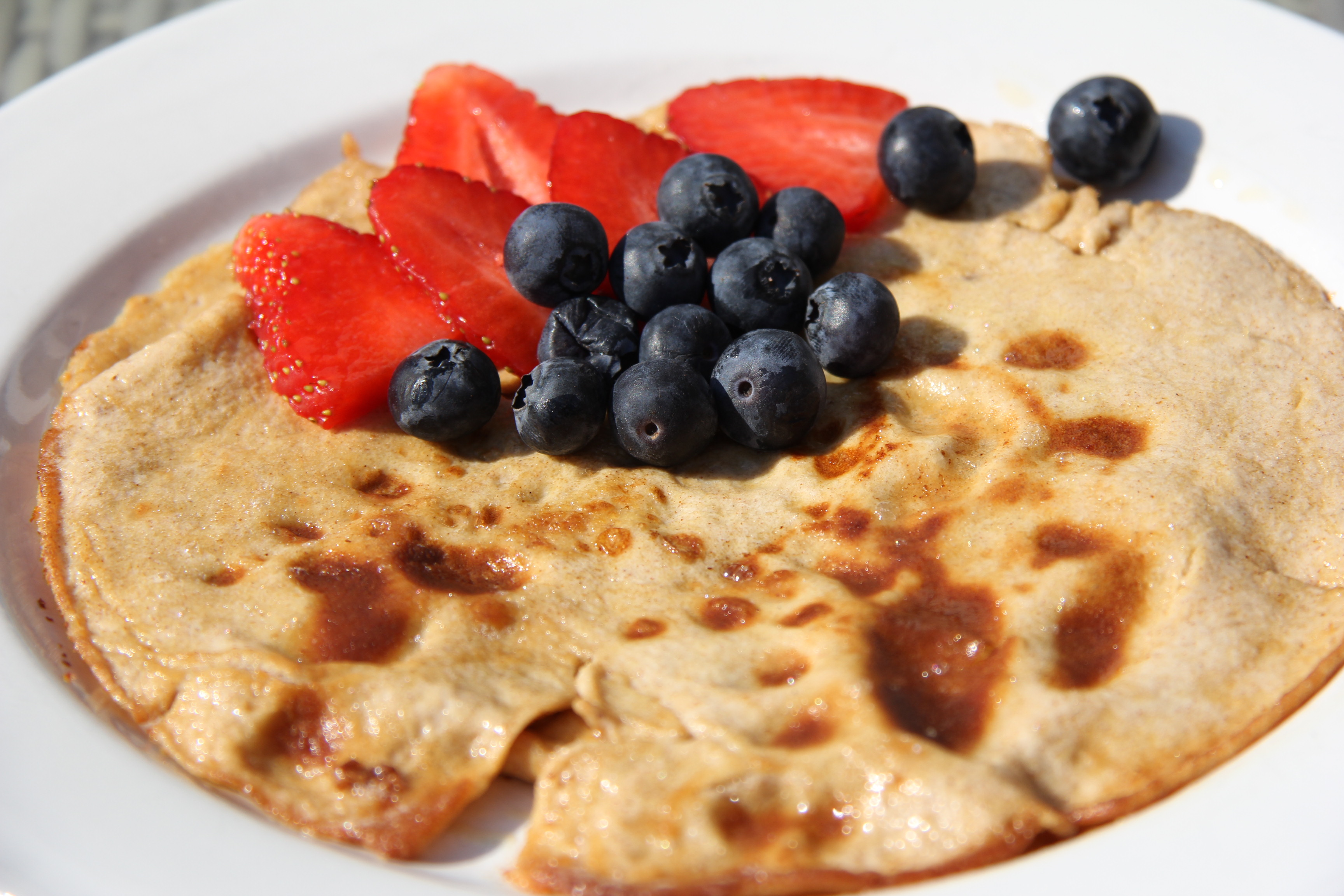... day with a low carb and gluten free pancake i love the versaltity of