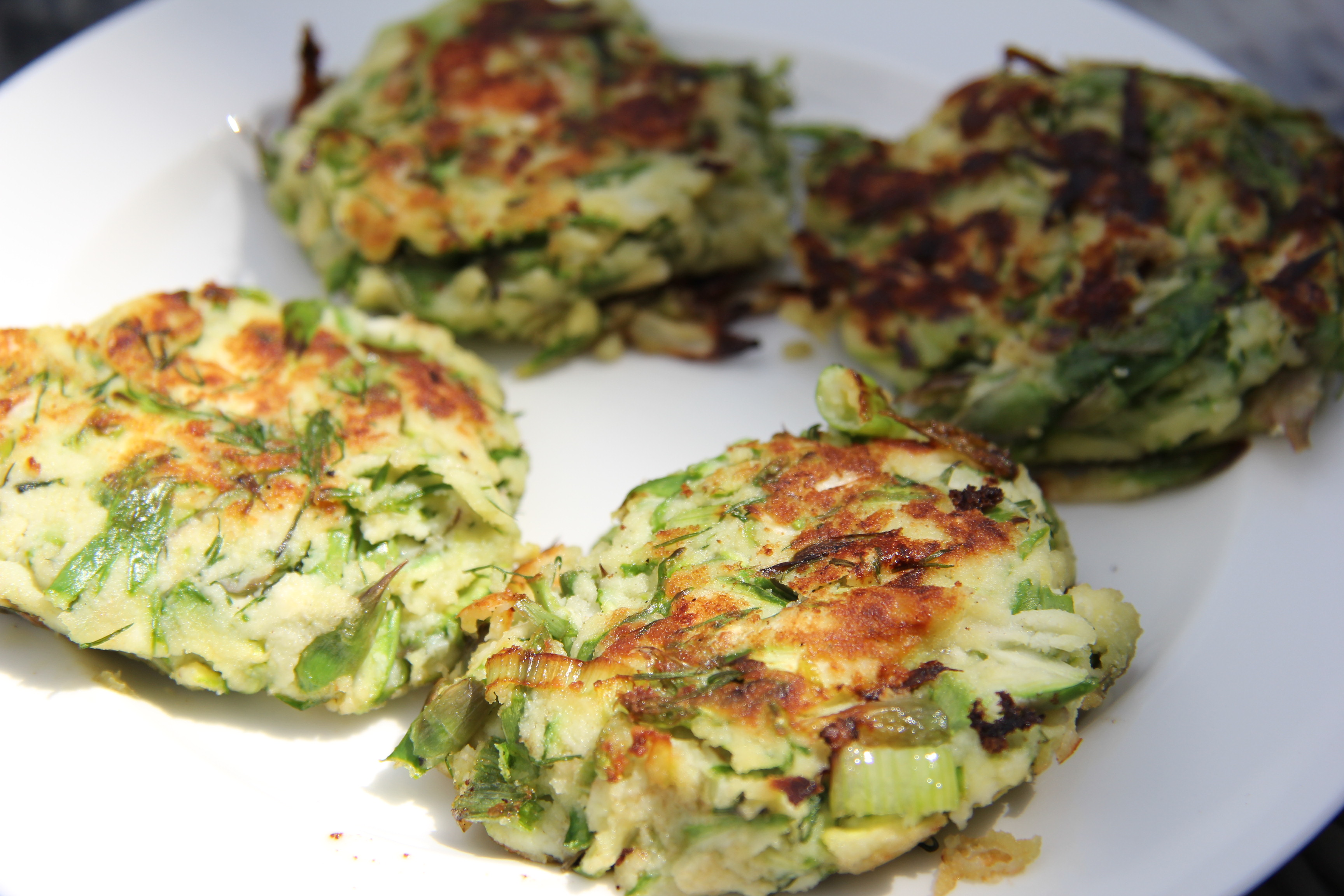 Asparagus and Feta Fritters | Divalicious Recipes