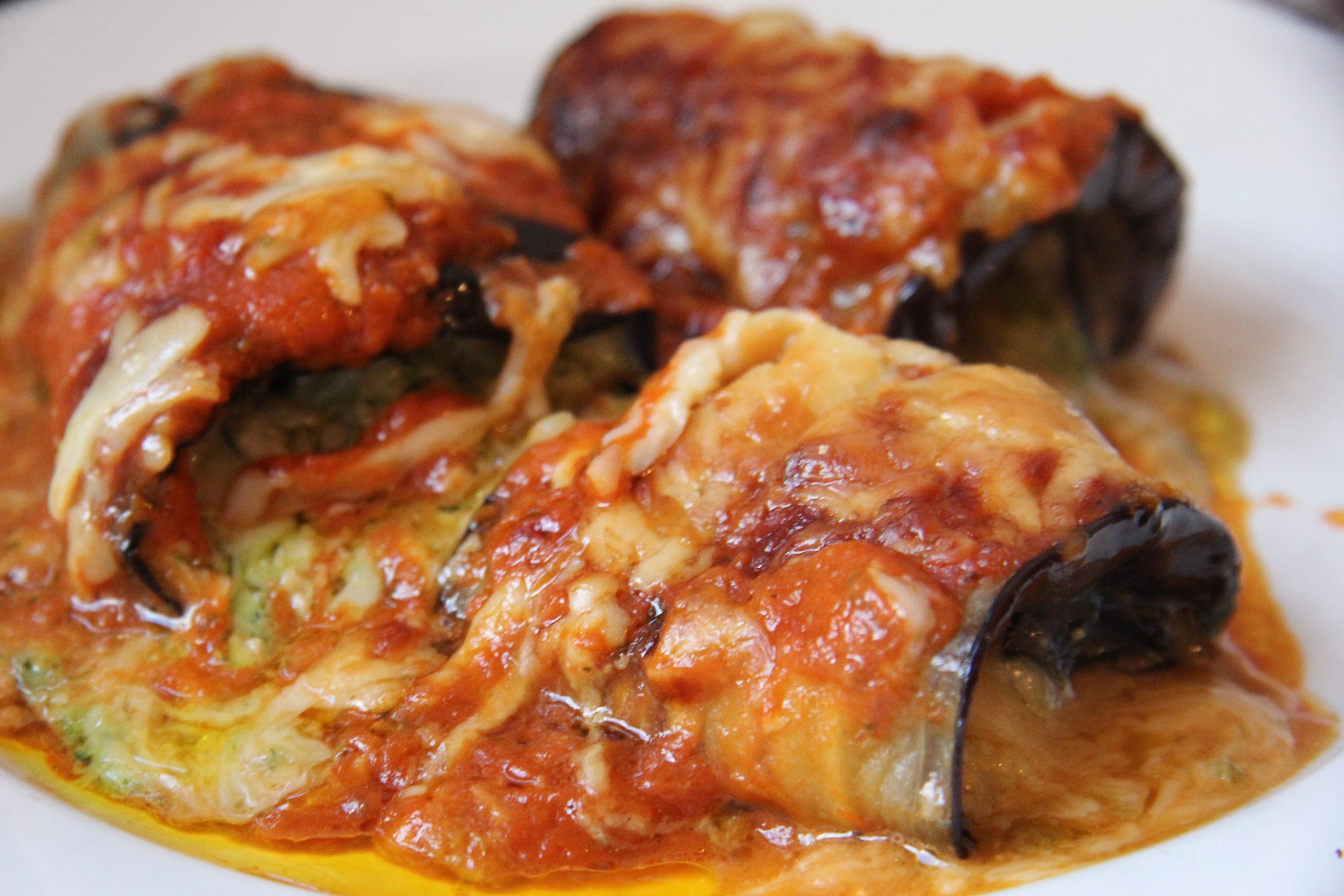 Aubergine (Eggplant) Cannelloni | Divalicious Recipes