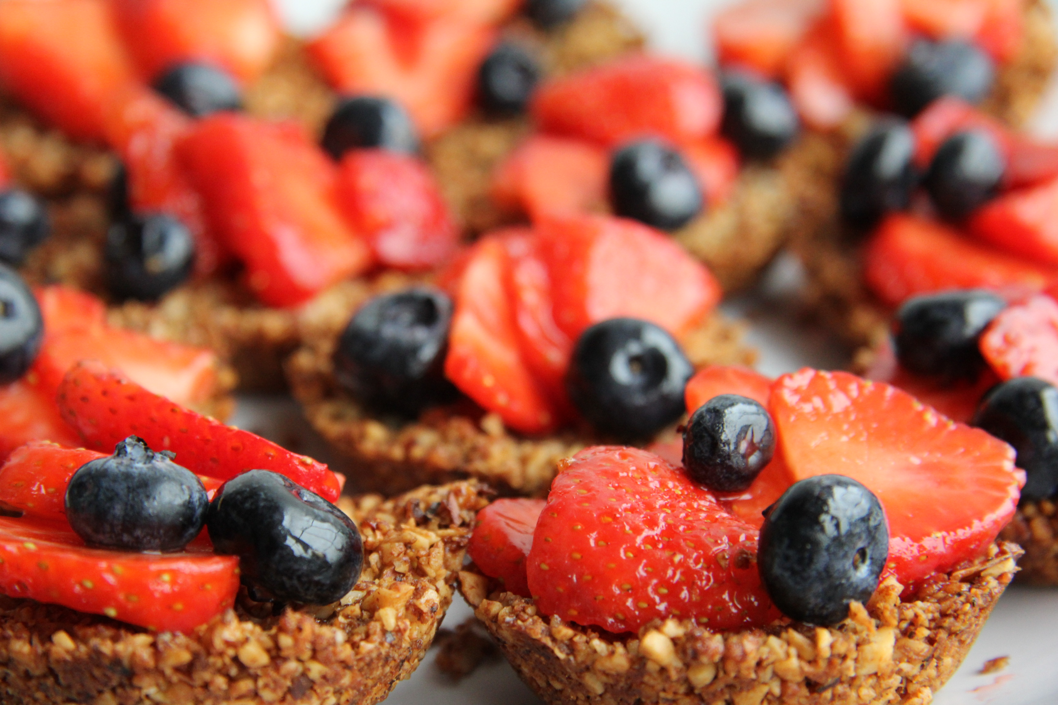 Strawberry Tarts With Ginger-Nut Crust Recipes — Dishmaps