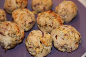 Turkey balls of tastiness