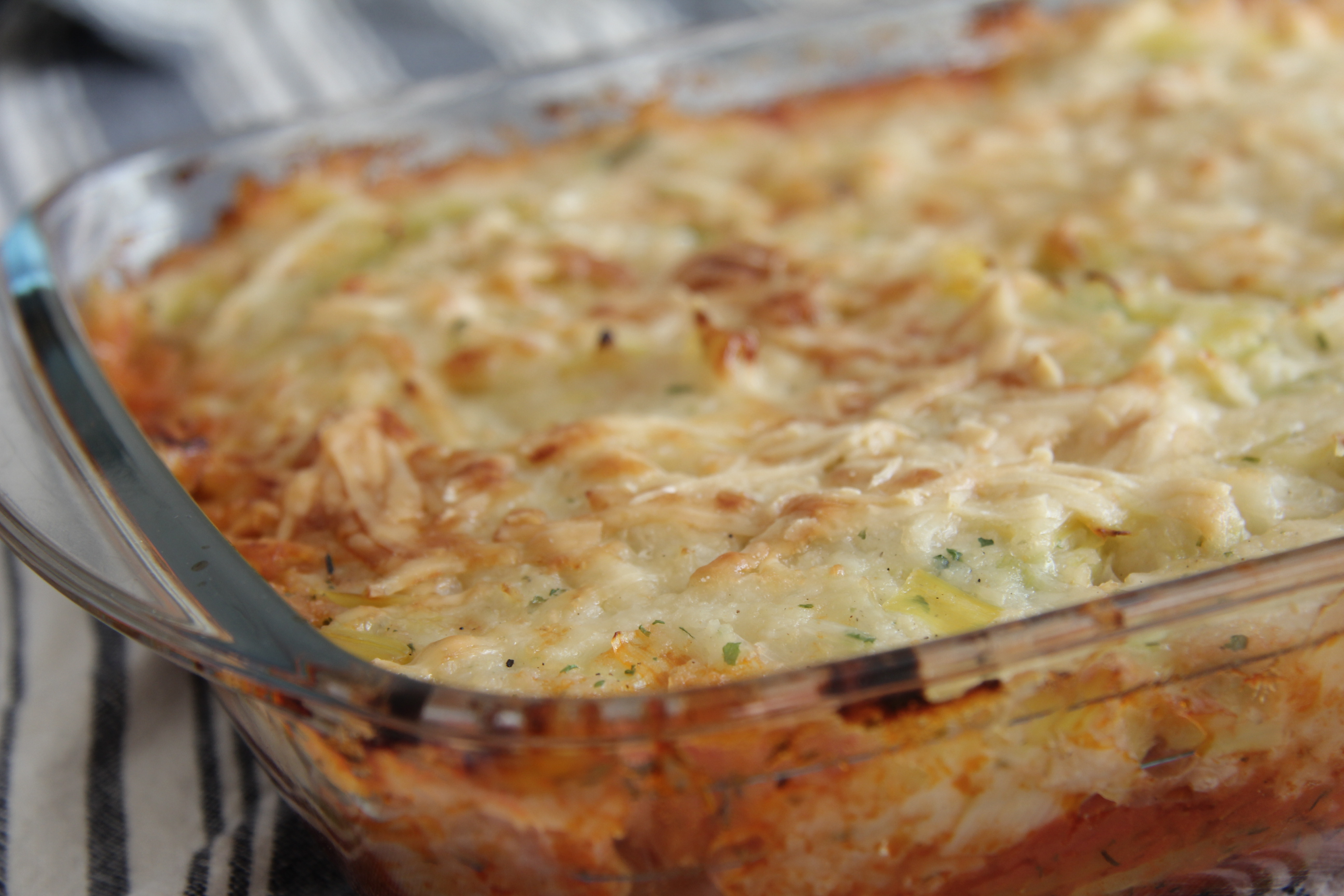 Cauliflower and Leek Topped Vegetable Pie | Divalicious Recipes In The ...