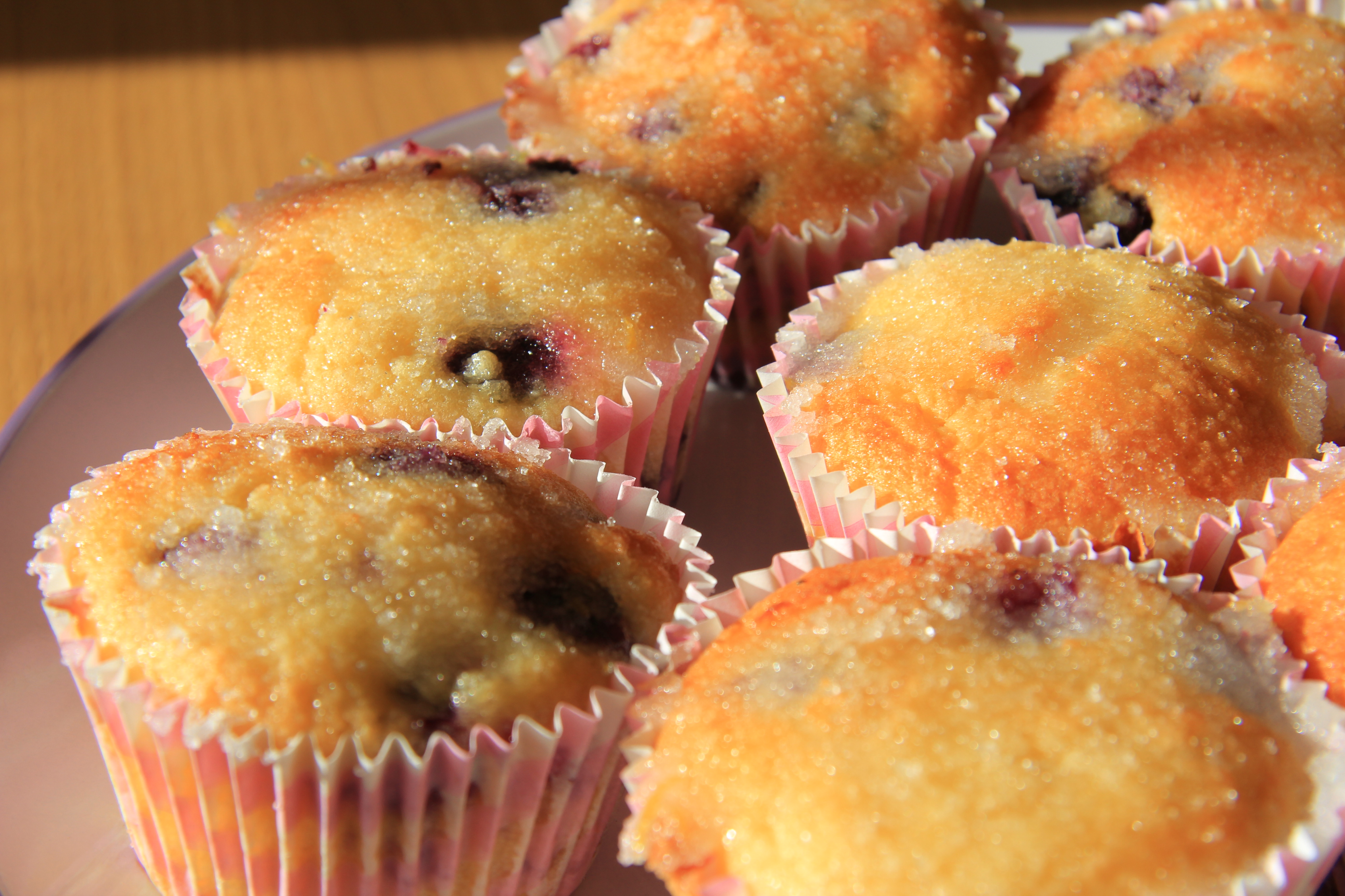 Lemon and Blueberry Muffins (Almond Flour) | Divalicious Recipes