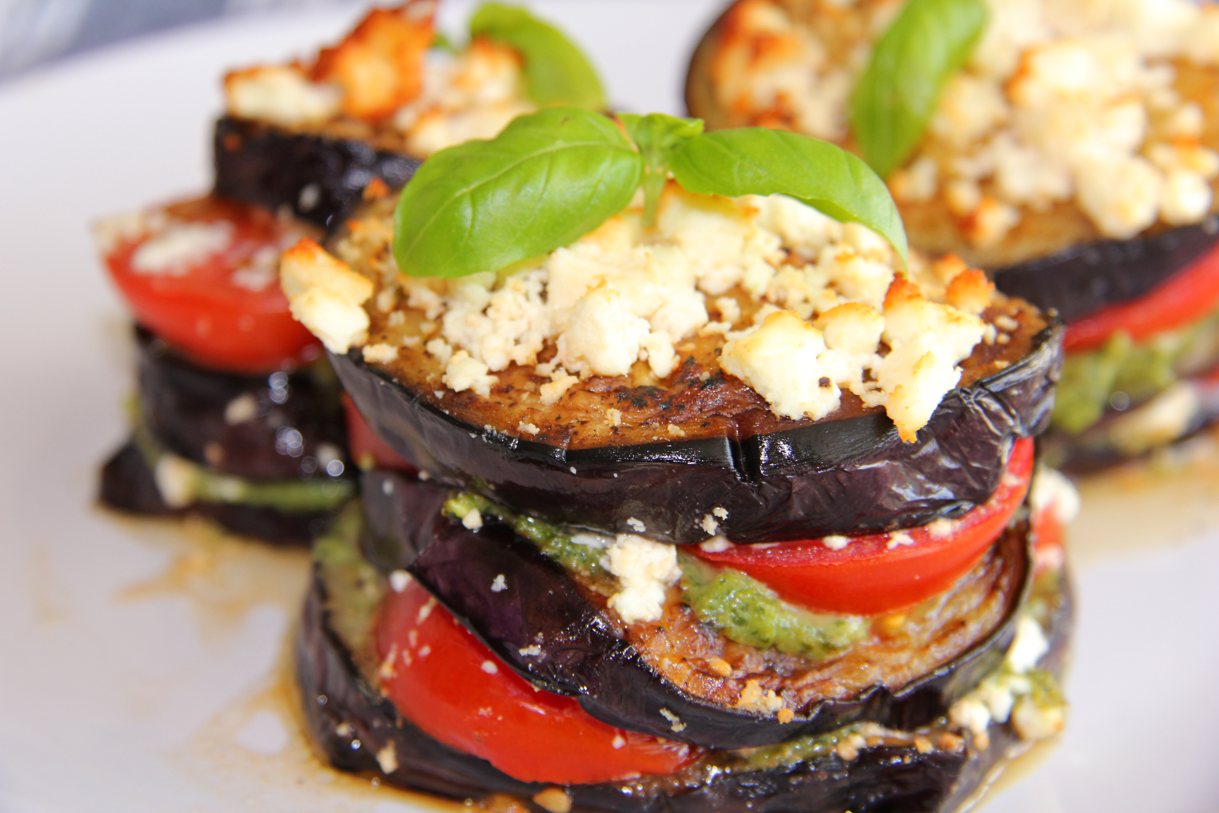 Grilled Eggplant With Creamed Feta Recipes — Dishmaps