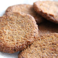 Hazelnut and Orange Cookies