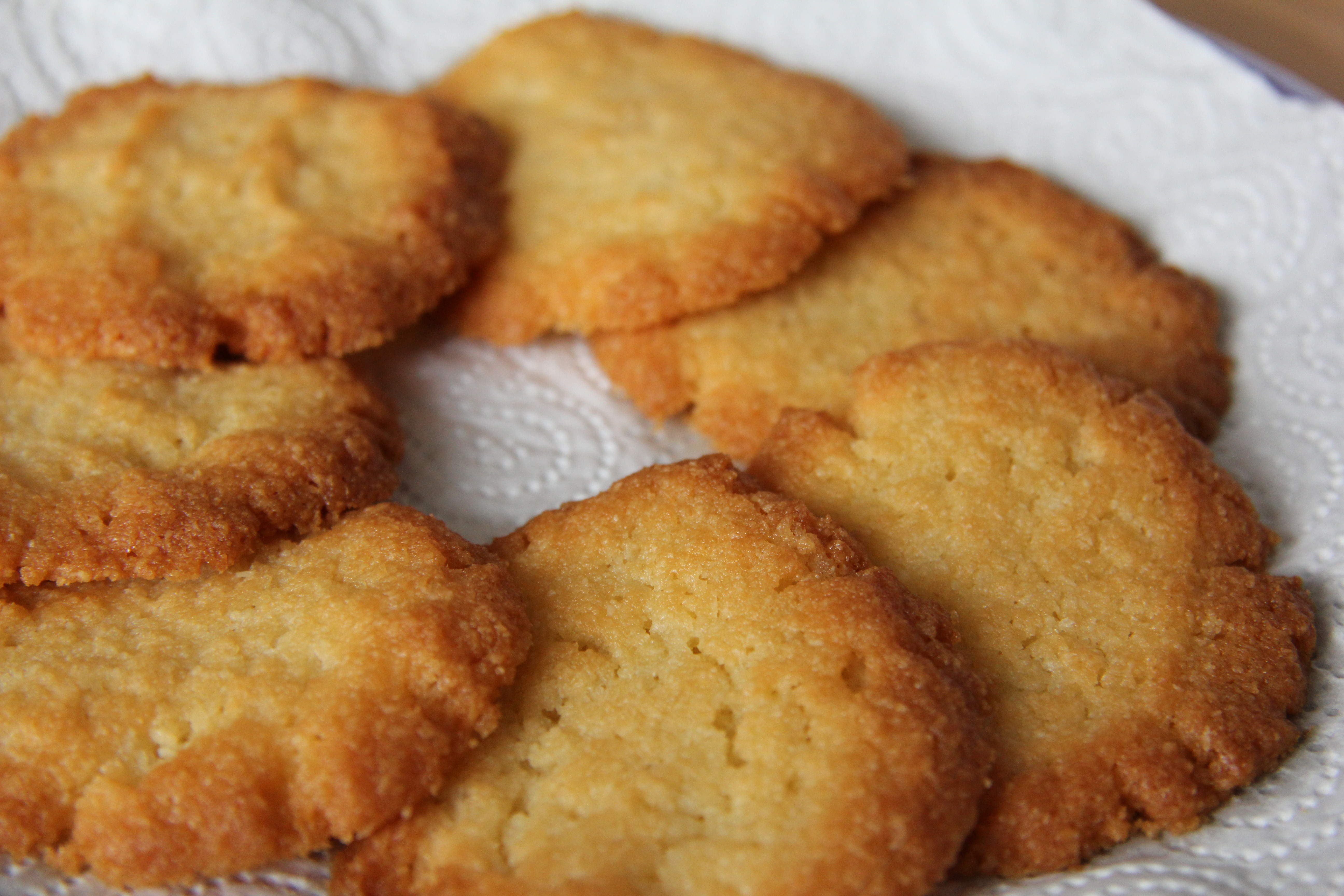 Almond Cake Recipe Low Carb: Butter Cookies (Almond Flour)