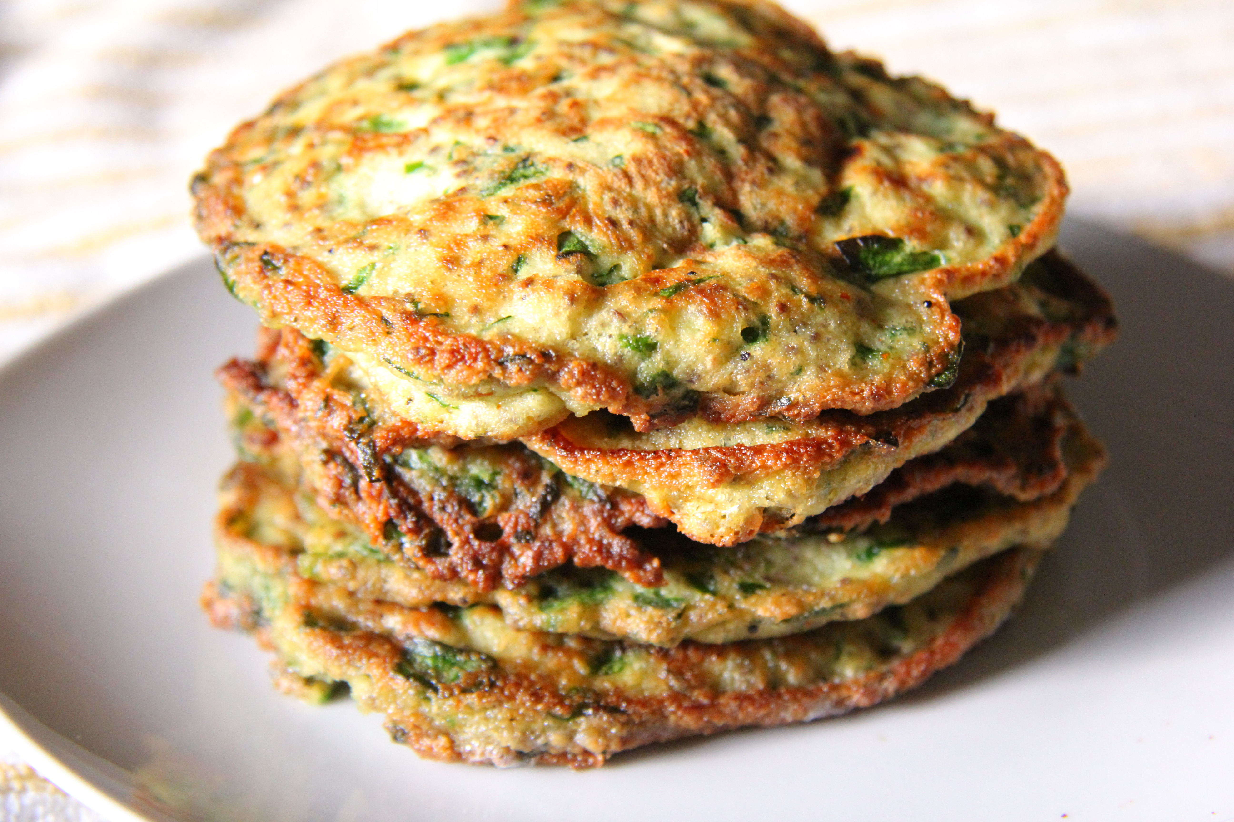 Spinach and Chia Pancakes (coconut flour) – Divalicious Recipes ...